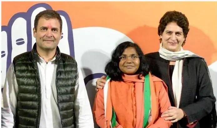 भाजपा छोड़ने वाली पूर्व सांसद सावित्री बाई ने कांग्रेस से भी दिया इस्तीफा