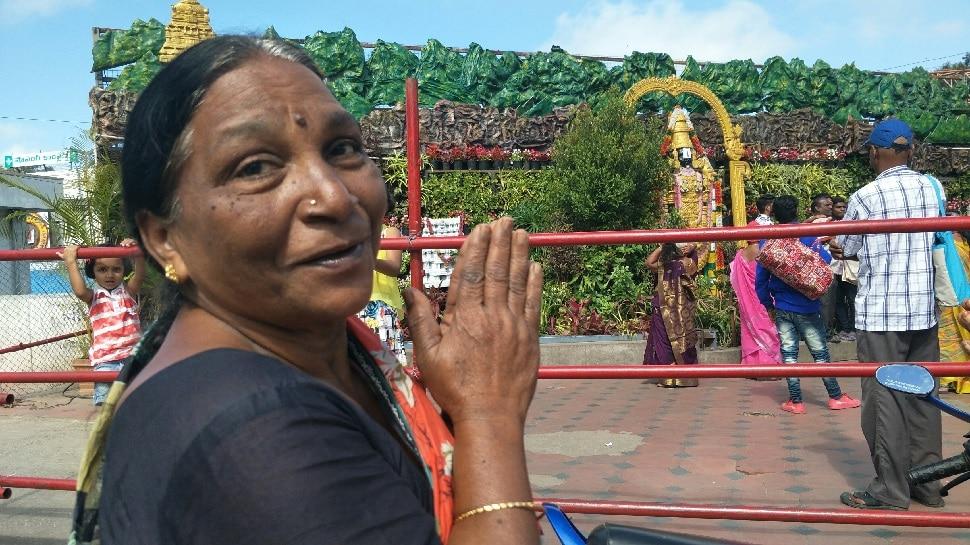 तिरुमाला मंदिर में दर्शन करने के लिए पहुंचे मुस्लिम श्रद्धालु, कहा- हमें अल्लाह ने...