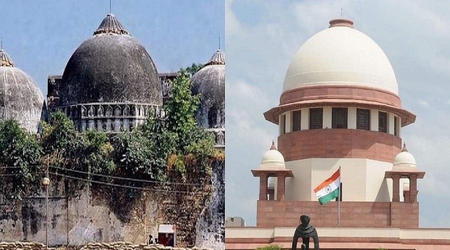 बाबरी मस्जिद एक्शन कमेटी ने मस्जिद के अवशेषों पर ठोकी दावेदारी