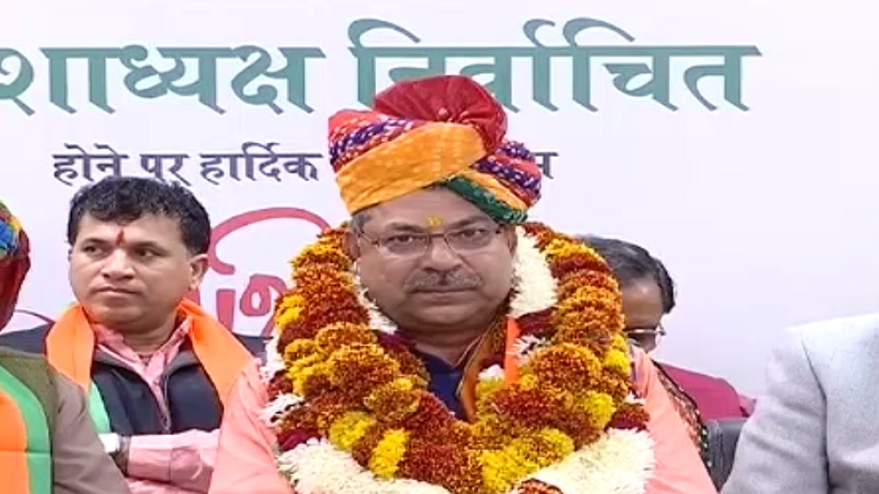 जयपुर: निर्वाचित अध्यक्ष बनते ही सतीश पूनिया ने कही खरी-खरी