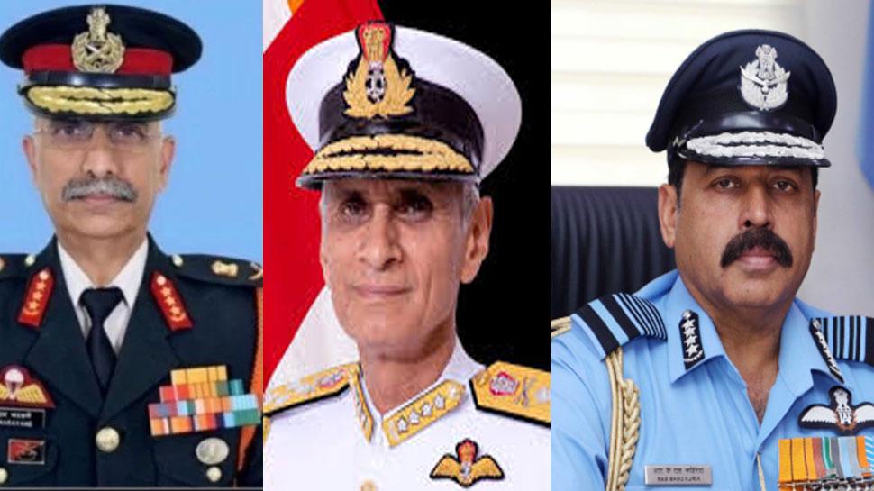देश की सुरक्षा की कमान संभालेंगे तीन दोस्त! तीनों सेना प्रमुखों के बीच कॉमन हैं ये बातें