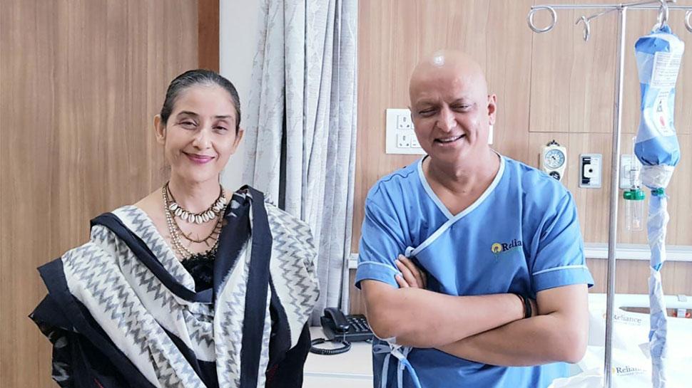 बीजेपी सांसद अनिल बलूनी से मिलने पहुंचीं अभिनेत्री मनीषा कोइराला, जाना हालचाल