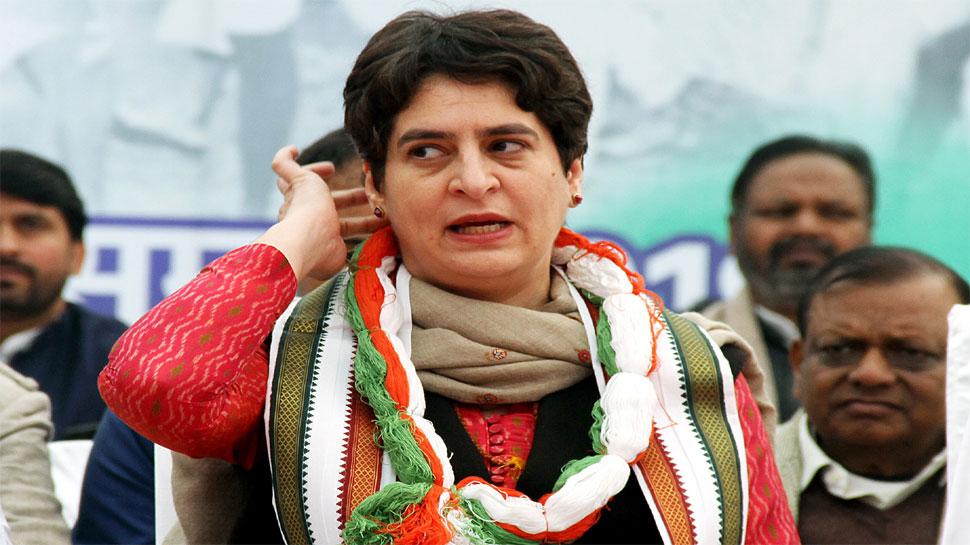 CRPF की आंतरिक जांच में आया सामने, 'प्रियंका गांधी की सुरक्षा में नहीं हुई कोई चूक'