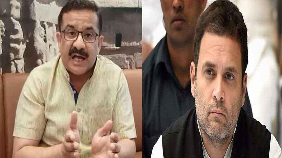 वसीम रिजवी का राहुल गांधी पर तंज, कहा- इस्लाम कबूल कर चले जाएं पाकिस्तान, बन जाएगी कांग्रेस सरकार