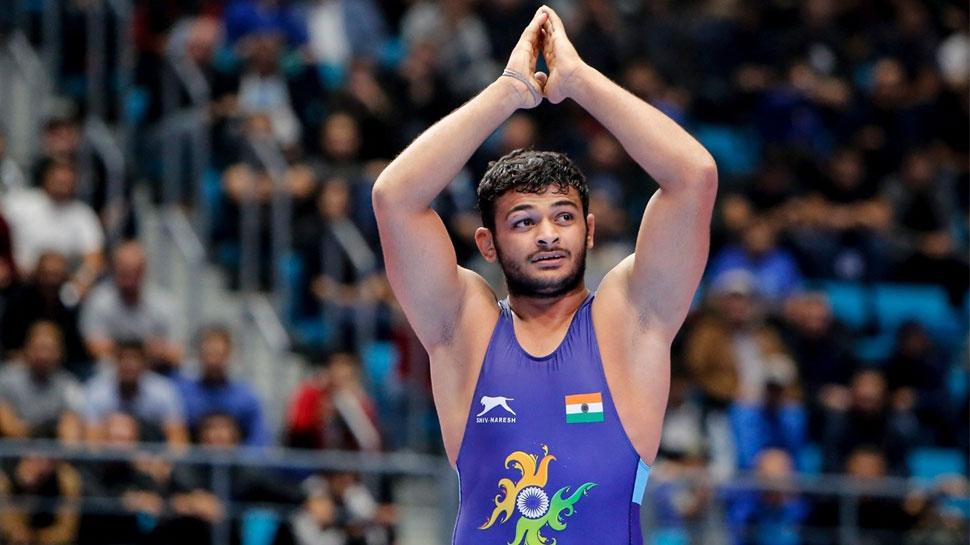 Deepak Punia Wins World Wrestling Championship