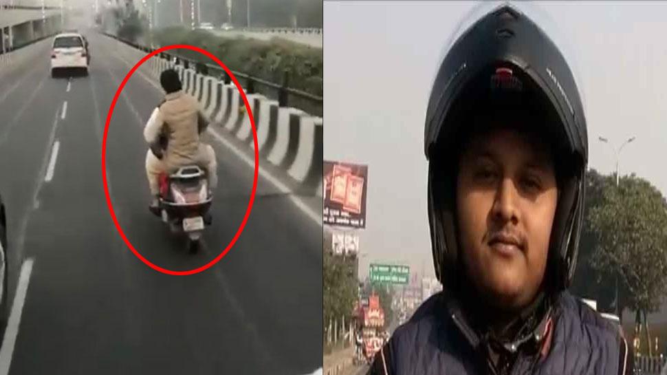 स्कूटी पर भाग निकली थीं प्रियंका गांधी, चालान कटा तो गाड़ी मालिक ने दिया चौंकाने वाला बयान