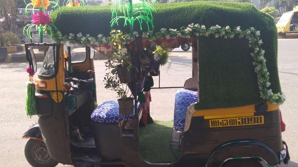 मुंबई का यह ऑटो रिक्शा है खास, पुलिस से लेकर जनता तक है दीवानी