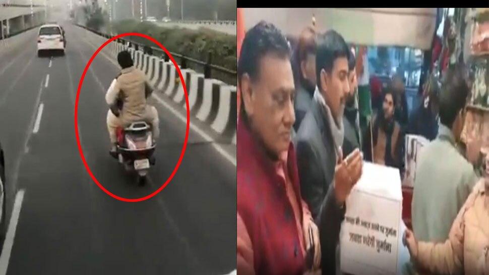 प्रियंका गांधी के ट्रैफिक नियम तोड़ने पर कटा चालान, अब पार्टी चालान के लिए मांग रही चंदा