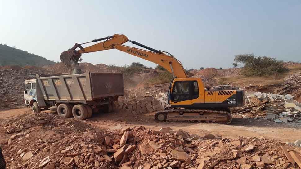 मंदसौर: खनिज माफियाओं पर कार्रवाई जारी, अब तक 150 वाहन जब्त, 50 लाख का जुर्माना