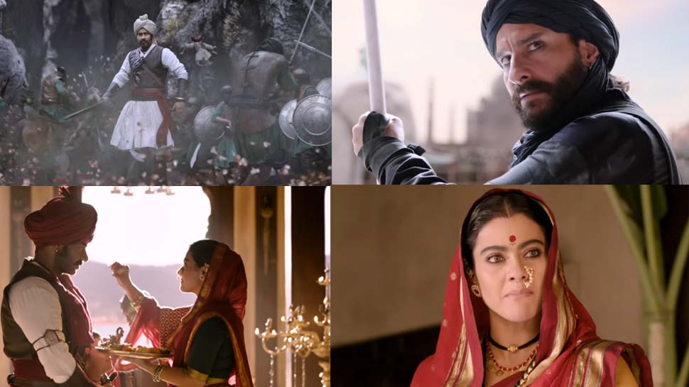 फिल्म रिव्यू : अजय देवगन के साथ सैफ को भी मिली 'तानाजी : द अनसंग वॉरियर' से 'विजय'