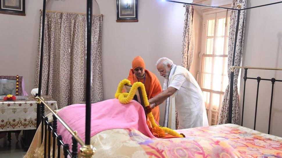 PM modi remembers Mahatma Gandhi
