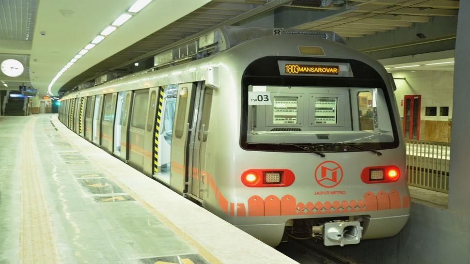 जयपुर: पतंगबाज़ी से दो बार प्रभावित हुआ मेट्रो का संचालन, इलेक्ट्रिक पोल में फंसा था मांझा