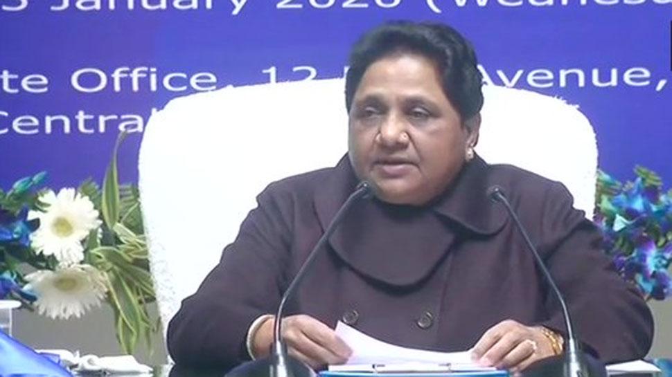 रियासतों से विदा हो रही है BJP, अगर कांग्रेस की राह पर चलेगी तो मुल्क से भी विदा हो जाएगी: मायावती