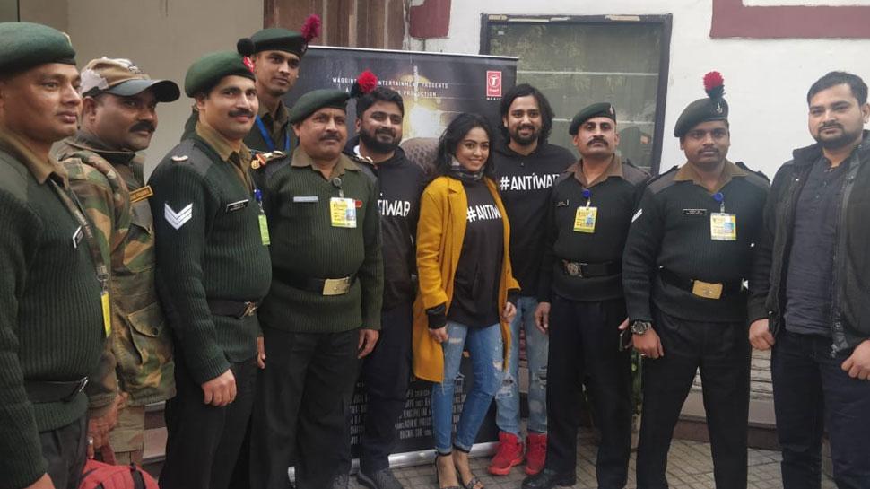 सैनिकों के लिए हुई फिल्म 'बंकर' की स्पेशल स्क्रीनिंग, जवानों ने ऐसा दिया रिएक्शन!