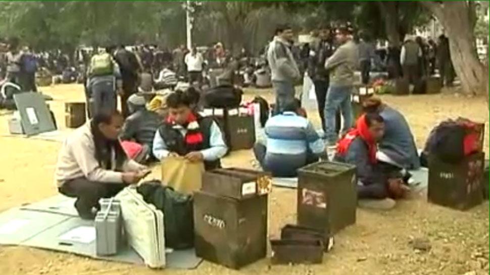 अजमेर पंचायत चुनाव की तैयारियां पूरी, सर्दी के कारण किए गए खास इंतजाम