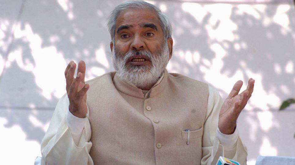 बिहार: रघुवंश प्रसाद सिंह का बयान, BJP को हराने के लिए किसी से समझौता करने को तैयार RJD