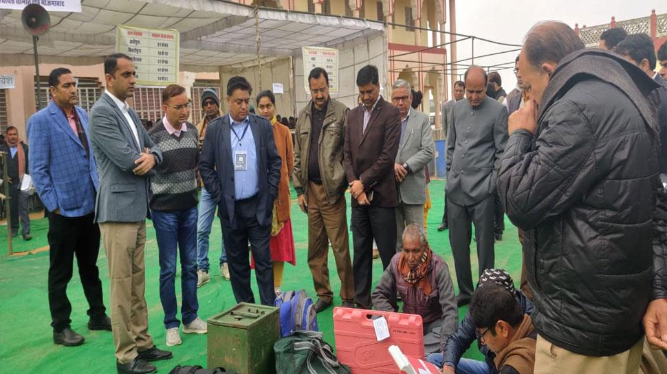 जयपुर: पंचायत चुनाव के लिए 329 पोलिंग पार्टियों ने संभाला मोर्चा, 48 घंटे बंद रहेंगी शराब की दुकानें