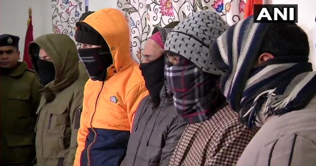 26 जनवरी को क्या करने वाले थे ये पांच आतंकी, घाटी से हुए गिरफ्तार