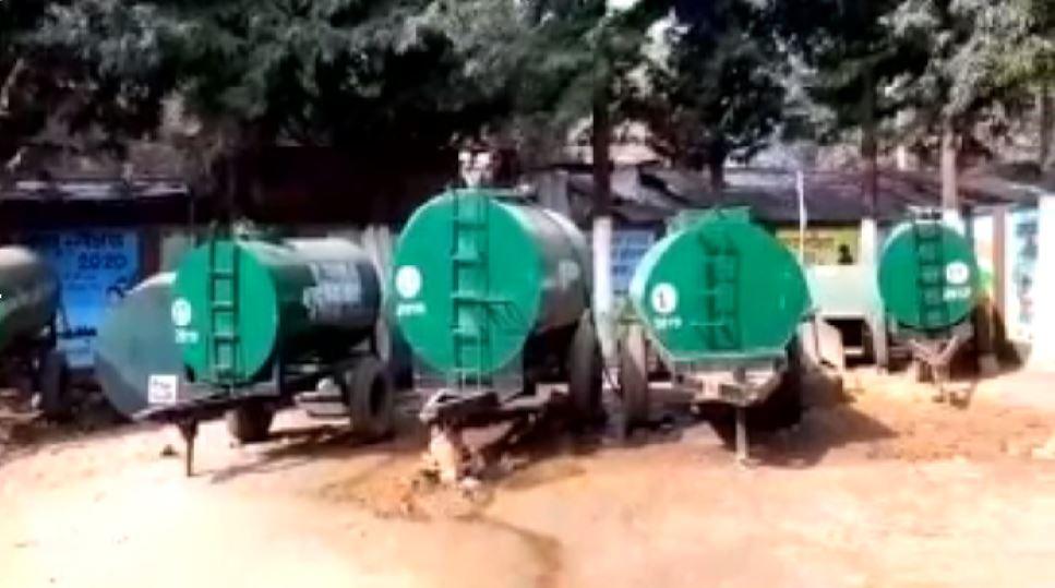 देवनगरी देवघर जूझ रहा पानी की समस्या से, युद्धस्तर पर पानी आपूर्ति का निकाला गया समाधान