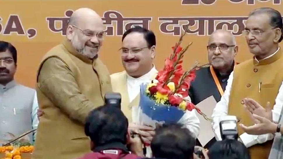 BJP के राष्ट्रीय अध्यक्ष बने जेपी नड्डा, निर्विरोध चुने गए