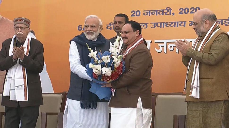 'जय श्री राम' के जयकारों के बीच PM मोदी ने कहा- 'अमित भाई का कार्यकाल हमेशा याद रहेगा'