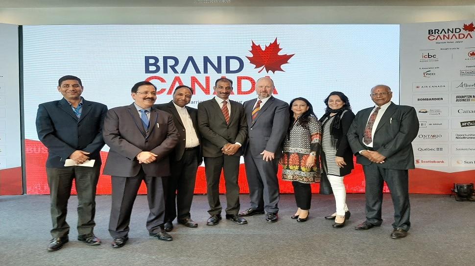 कनाडा के वाणिज्य मंत्री एंड्रयू स्मिथ जयपुर दौरे पर, औद्योगिक संगठनों के साथ की गई निवेश को लेकर बैठकें