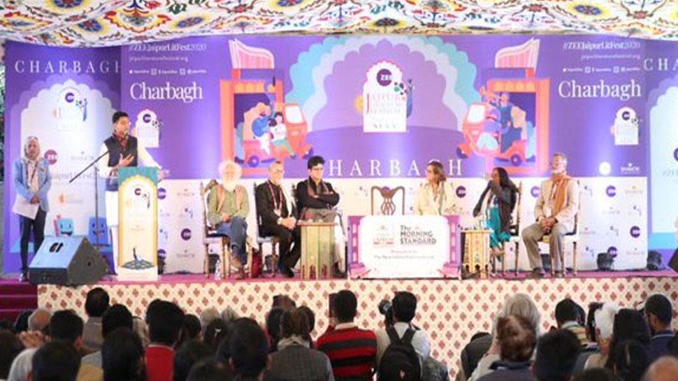 राजस्थान: डिग्गी पैलेस में हुआ जयपुर लिटरेचर फेस्टिवल का आगाज, 550 वक्ता लेंगे हिस्सा