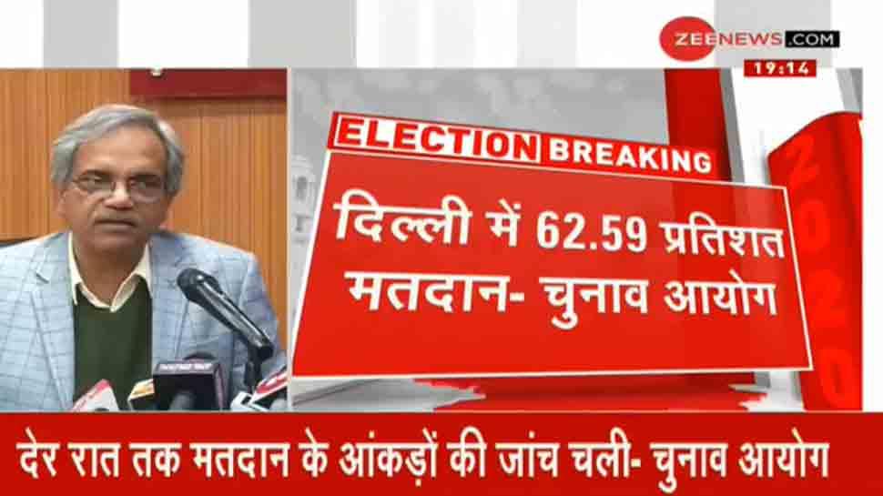 दिल्ली में 62.59 फीसदी मतदान, चुनाव आयोग ने बताया क्यों देर से जारी किए फाइनल आंकड़े