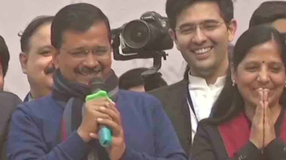 चुनाव नतीजों पर बोले केजरीवाल, 'हनुमान जी ने मंगलवार को दिल्लीवासियों पर बरसाई कृपा'
