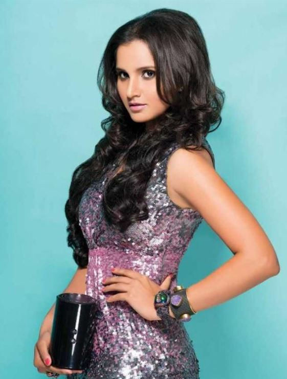 sania known for her beauty