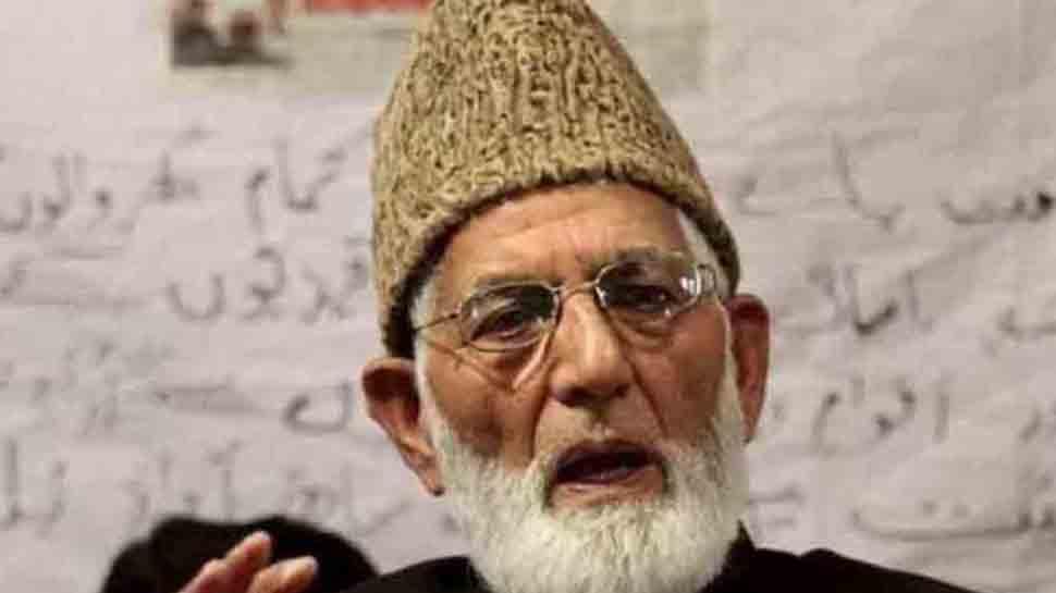 कश्मीर: अलगाववादी नेता गिलानी की सेहत बिगड़ी, घाटी में अलर्ट जारी