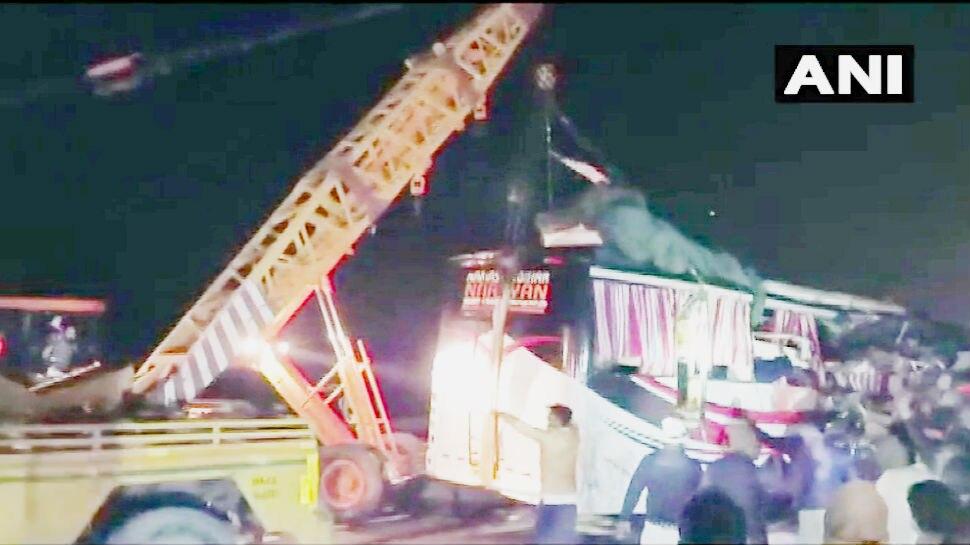 फिरोजाबाद हादसा: मोतिहारी के 5 यात्रियों की मौत, दिल्ली से बिहार आ रही थी बस