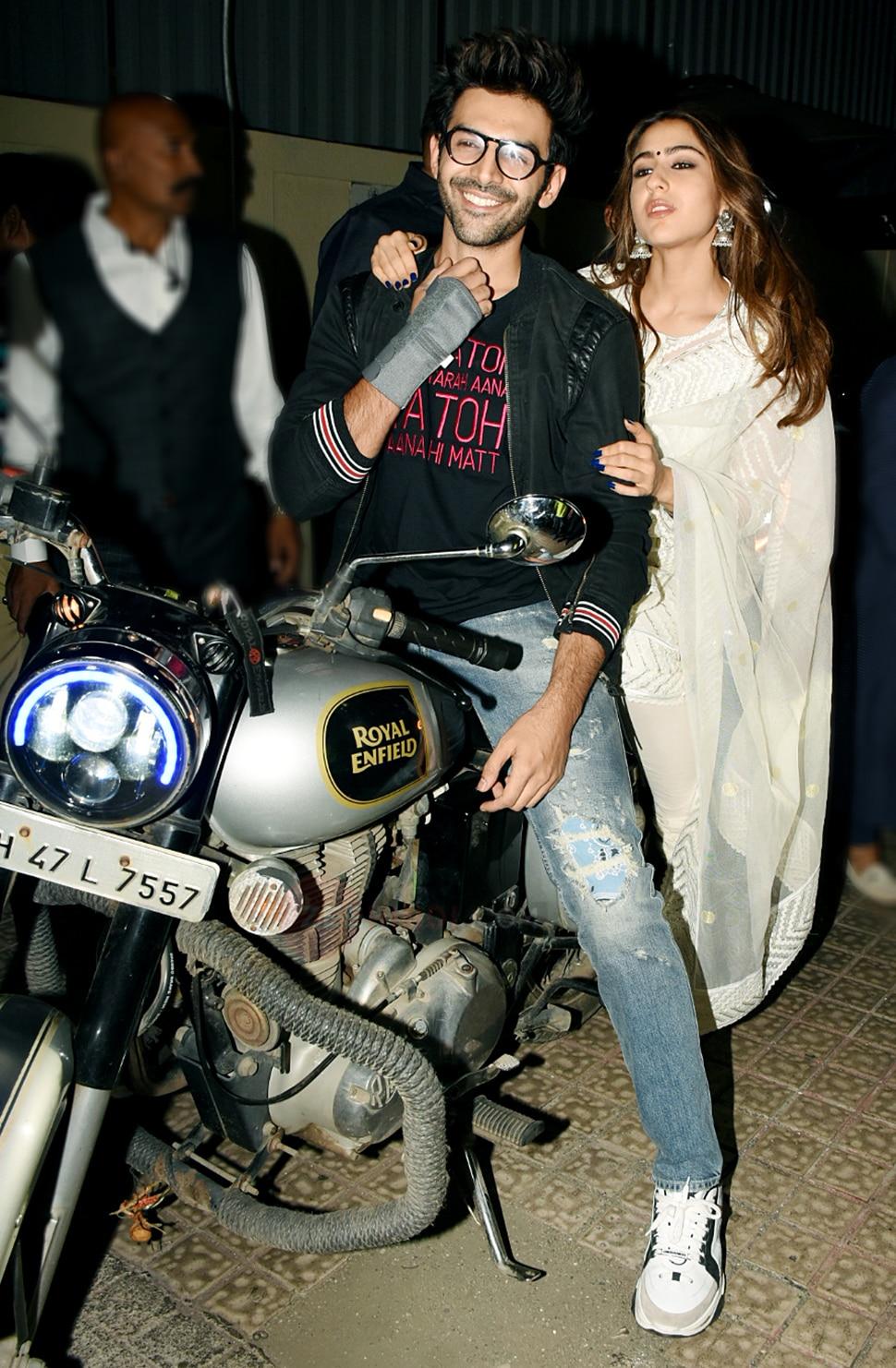 Sara Ali Khan And Kartik Aarya