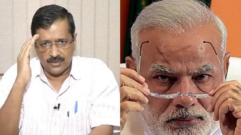 दिल्ली: अरविंद केजरीवाल ने शपथ-ग्रहण समारोह में PM मोदी को किया आमंत्रित