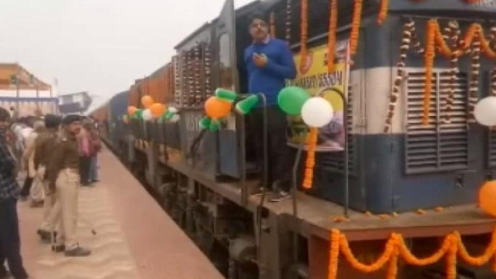 बिहार: सुपौल-सहरसा के बीच ट्रेन का परिचालन शुरू, मंत्री ने दिखाई हरी झंडी