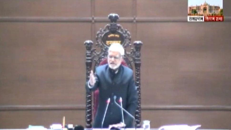 राजस्थान विधानसभा में प्रश्नकाल के दौरान सख्त दिखे अध्यक्ष सीपी जोशी