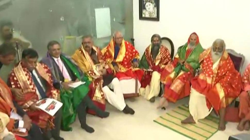 'श्री राम जन्मभूमि तीर्थ क्षेत्र' ट्रस्ट के अध्यक्ष बनाए गए महंत नृत्य गोपाल दास, चंपत राय होंगे महासचिव