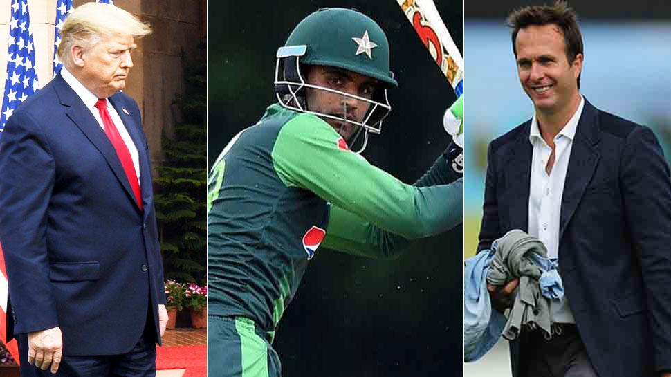 अब पाक क्रिकेटर के नाम पर Troll हुए ट्रंप, माइकल वॉन ने कहा- देखना है कैसे नाम लेंगे