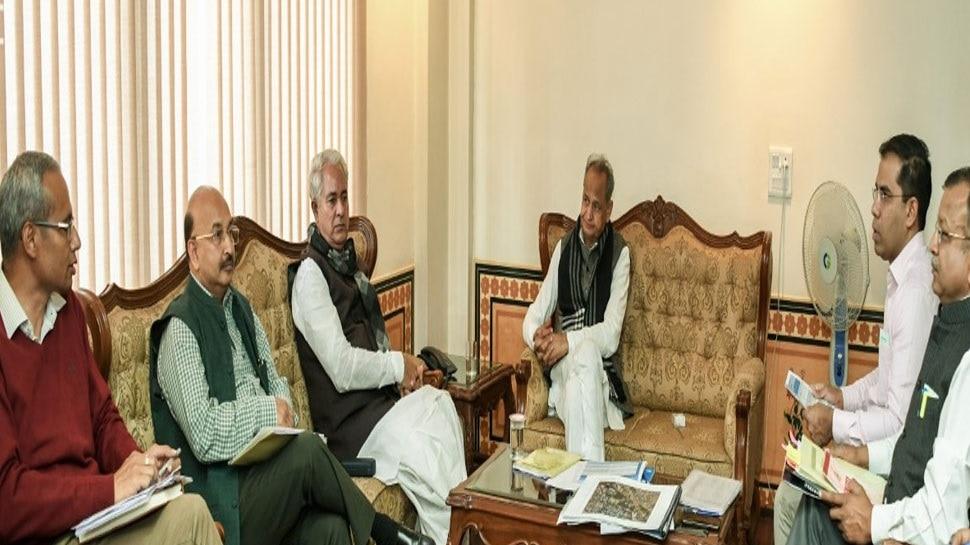 जयपुर: अशोक गहलोत ने की उद्योग विभाग के कामकाज की समीक्षा, दिए खास निर्देश...