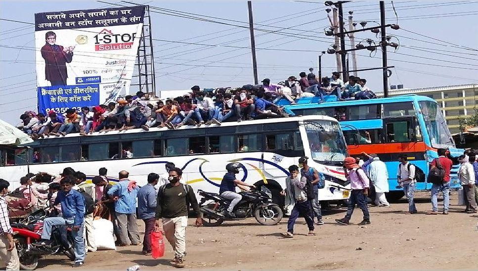 बिहार में 'लॉकडाउन' को लेकर लोग गंभीर नहीं, प्रशासन सख्त