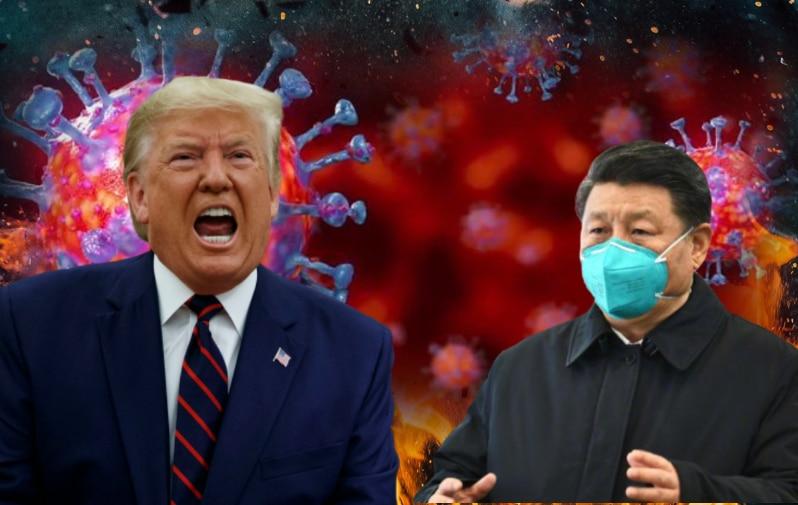 कोरोना के जन्मदाता देश चीन को अमेरिकी राष्ट्रपति ने कुछ इस अंदाज में 'धोया'