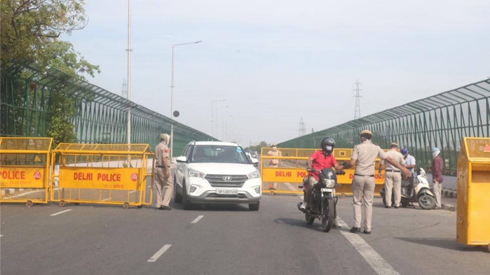 कर्फ्यू में बाहर निकलने वालों पर दिल्ली पुलिस सख्त, एक दिन में दर्ज की 183 एफआईआर
