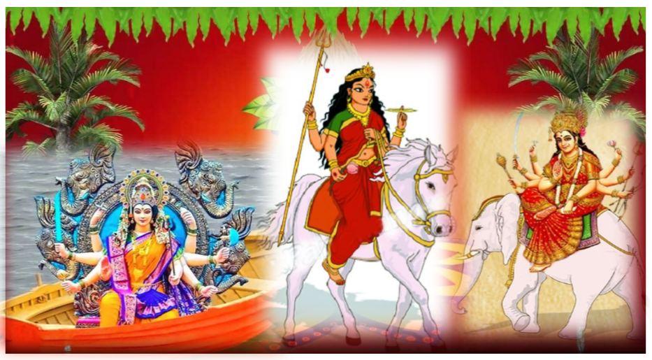 जानिए, कैसे तय होता है मां दुर्गा के आने का वाहन, क्या होता है उनका फल