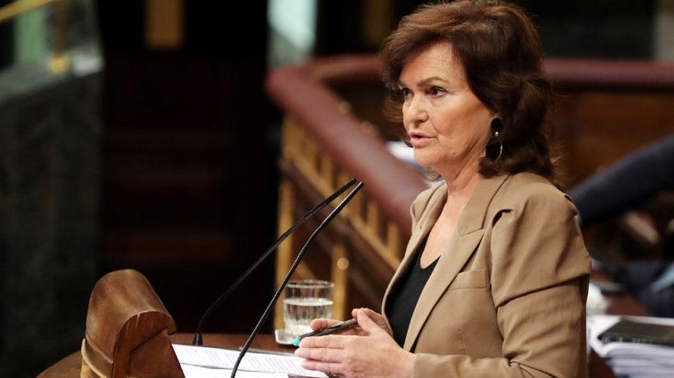 स्पेन की Deputy PM भी आईं कोरोना की चपेट में, पिछले 24 घंटे में 738 लोगों की मौत