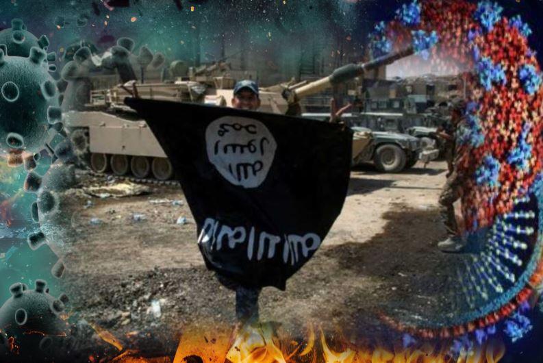 ISIS ने कहा कि मूर्तिपूजकों के लिए कहर है कोरोना