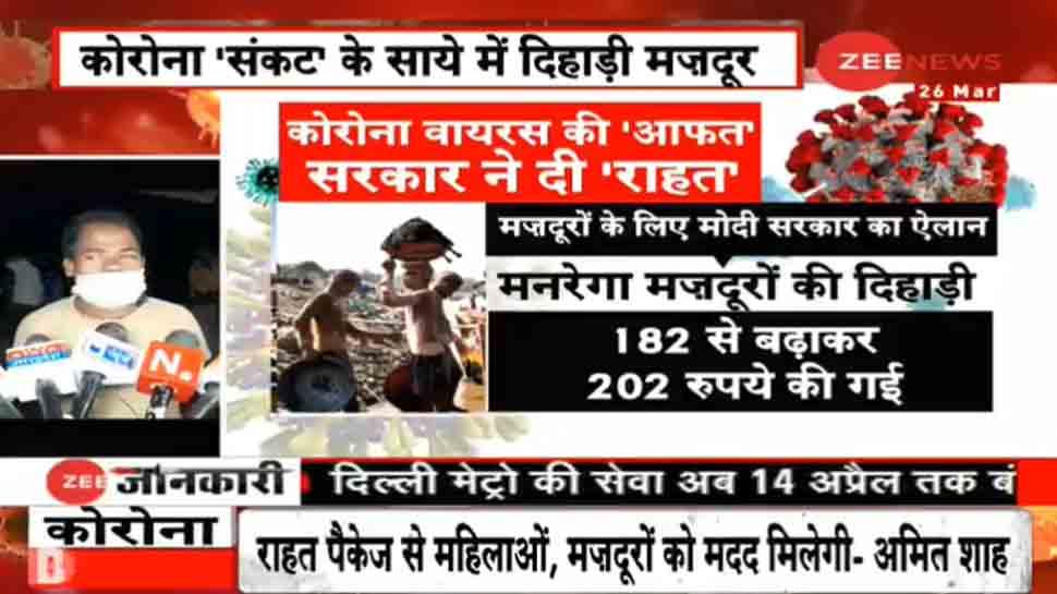 कोरोना से खौफ, मजदूरों को भूखे पेट मरने का डर, रिक्शे से 1000KM दूर घर लौटने पर मजबूर