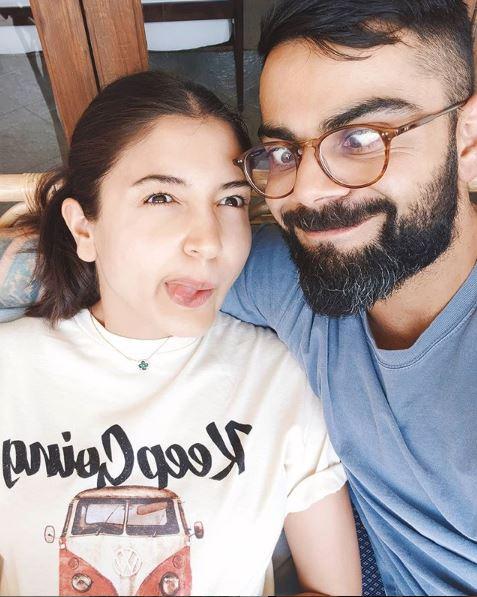 anushka and virat stay at home