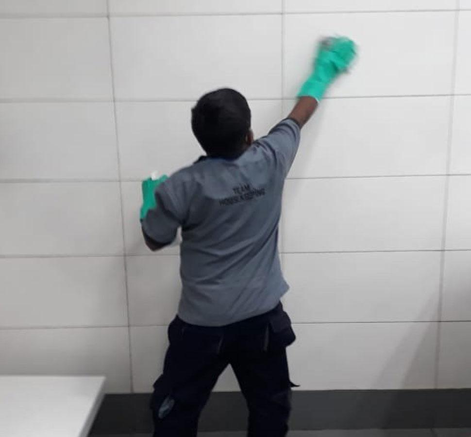 Sanitization at IGI Delhi