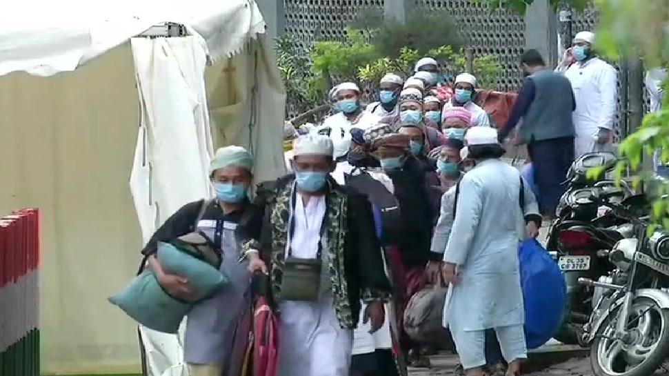 निज़ामुद्दीन मरकज़ में शिरकत करने वाले वाले 51 लोग UP के वृंदावन से गिरफ्तार