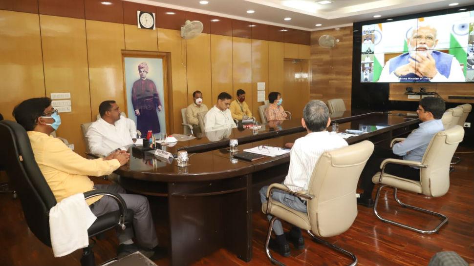 PM के साथ वीडियो कॉन्फ्रेंसिंग पर बोले हेमंत सोरेन, सभी CM ने बताई राज्य की स्थिति